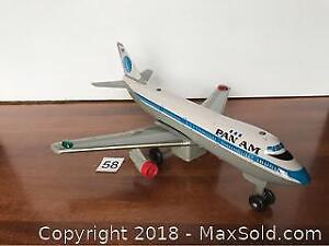 Pan American Toy Airplane