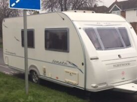 Fleetwood Sonata Rhapsody 2007 4 berth caravan. Excellent condition inside and out.