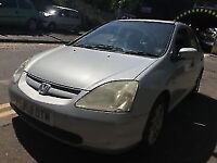 Honda Civic 2001 1.6 petrol Silver 5dr Breaking For Spares - wheel nut