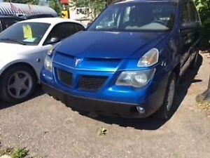 "2003 Pontiac Aztek """" Low Kilometers"""" No Accidents """""