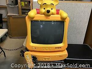Disney Winnie the Pooh TV and DVD Player