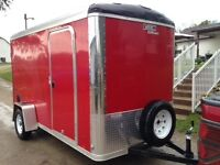 Mint Condition!!!  2014/2015 New 12x6x6.5  Cargo Trailer
