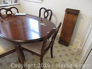 Dining Table And Chairs A