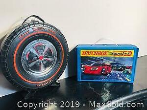 VIntage Toy Cars and Cases