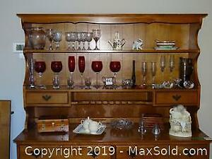 Wine Glasses, China, Figurines A