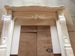 MARBLE FIREPLACE SURROUND ***BEST OFFER*** London Ontario image 1
