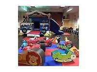 Mickey Mouse Bouncy Castle with soft play