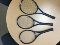 Wilson 4.0 triad tennis rackets for sale x7 or sold individually
