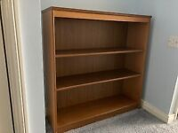 G Plan bookcase and display plate / shelf unit