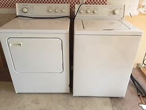 Mint condition washer and dryer for sale