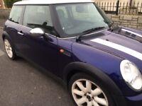 Mini Cooper 1.6cc petrol