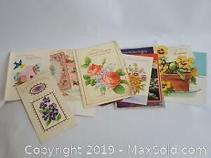 Collection of Vintage Birthday cards
