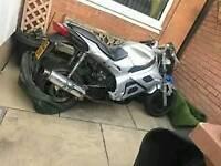 Pulse motor bike