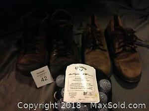 Callaway Golf Balls and Men's Leather Shoes and Boots