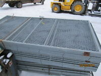 Galvanized 4' X 8' Tool Crib Panels