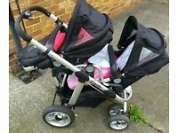 i candy pear double buggy