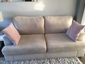 DFS Freya 3 Seater Sofa & Swivel Chair