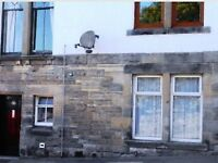 1 bed ground for flat in central Dunfermline