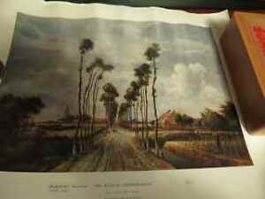 The Avenue at Middelharnis poster by Meindert Hobbema 1689