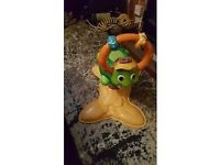 babies bounce time turtle toy