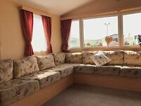 Quality 2012 3 Bedroom Caravan At Sandylands with fees inc till 2019 BUY NOW PAY LATER CAll Robert
