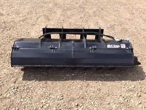 """72"""" Skid Steer and Bobcat Rotary Tiller Attachment"""
