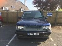 Land Rover Range Rover 2.5 dHSE 4d Auto (99) 2001/X