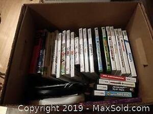 Nintendo And Wii Games And Books A