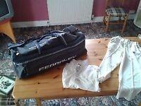 Cricket Bag/Shirt/Trousers