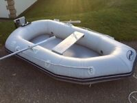 Waveline 2.30m Roundtail Inflatable Dinghy with Airmat Floor in Excellent Condition