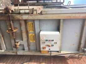 CARD BOARD CRUSHER FOR SALE