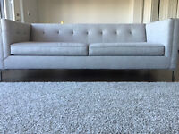 New grey contemporary couch