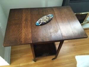 Solid Wood Antique Tea Table