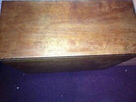 Wooden Rectangle shape Drop leaf Table