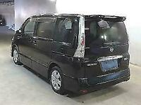 Nissan Serena highway star 2.0 mpv automatic black jap import 8 seater 07