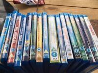 various childrens blu rays