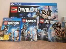Lego Dimensions starter pack and software for PS4.