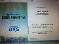 Early Bird Tickets for Kings of Leon Hyde Park 6th July