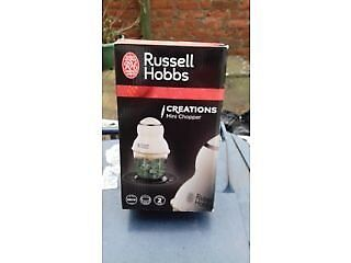 RUSSELL HOBBS CREATIONS MINI FOOD CHOPPERin Gateshead, Tyne and WearGumtree - RUSSELL HOBBS CREATIONS MINI FOOD CHOPPER. BRAND NEW, STILL BOXED. BUYER TO COLLECT FROM GATESHEAD AREA. CASH ON COLLECTION