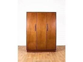 3 door wardrobe - g plan