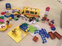 LOTS of Lego Duplo Inc Zoo, Disney Princess Sets Plus, 325 Pieces