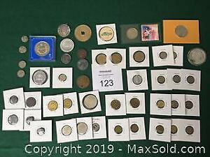Large Lot Of Tokens A