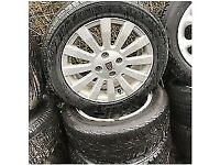 ROVER 25 15 INCH ALLOY WHEELS 185/55R15