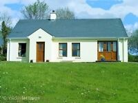 Modern lough shore cottage in Kesh Co Fermanagh