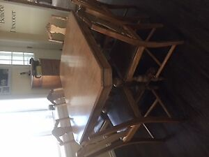 Antique table and chairs from the 30's