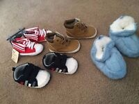 Selection of bay shoes up to 12 months