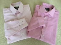 2 Smart/Casual M & S Limited collection and Taylor Wright shirts