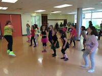 Zumba Kids Birthday Parties with Instructor's Charlene & Leona