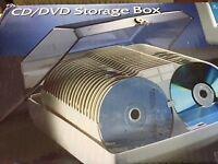 Brand New Dataline CD/DVD secure storage box with key