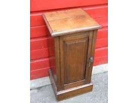 Antique Victorian Dark Hardwood Polished Cabinet Weymouth